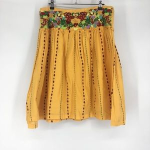 Odille Size 12 Embroidered Skirt